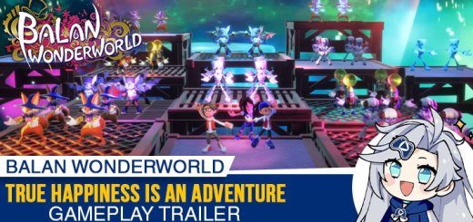 Balan Wonderworld, PlayStation 5, PlayStation 4, Xbox One, Xbox Series X, Nintendo Switch, Switch, PS5, PS4, XONE, XSX, US, Europe, Japan, Square Enix, gameplay, features, release date, price, trailer, screenshots, Arzest, news, update, gameplay trailer, True Happiness Is An Adventure