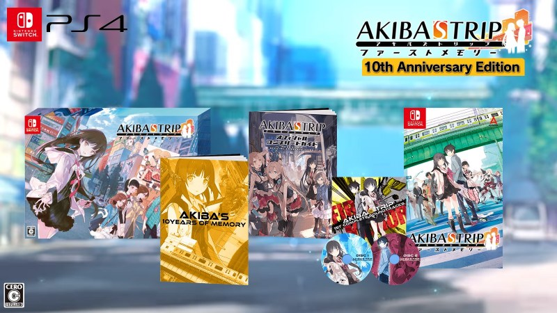 Akiba's Trip: Hellbound & Debriefed [10th Anniversary Limited Edition], Akiba's Trip: Hellbound & Debriefed 10th Anniversary Edition, Akiba's Trip: Hellbound & Debriefed, Switch, Nintendo Switch, Japan, release date, price, pre-order, features, Trailer, Screenshots, Acquire, Limited Edition