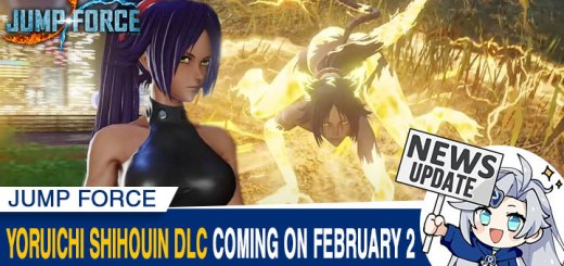 Jump Force, PlayStation 4, Xbox One, release date, gameplay, price, features, US, North America, Europe, update, news, DLC, Switch, Jump Force Deluxe Edition, Bleach, YoruichiShihouin, Japan, Asia