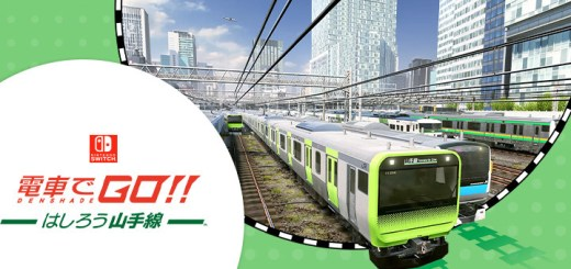 GO by Train!! Hashiro Yamanote Line, Densha de GO!! Hashirou Yamanote Sen, GO by Train Hashiro Yamanote Line, 電車でGO! ! はしろう山手線, Nintendo Switch, Switch, Japan, Square Enix, gameplay, features, release date, price, trailer, screenshots