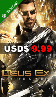 Deus Ex: Mankind Divided Square Enix