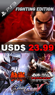 Fighting Edition: Tekken 6 / Tekken Tag Tournament 2 / SoulCalibur V Bandai Namco Games