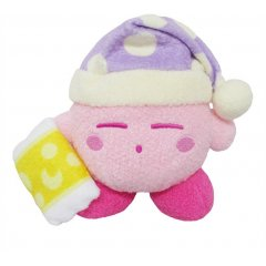 KIRBY'S DREAM LAND KIRBY MUTEKI! SUTEKI! CLOSET PLUSH: SLEEP San-ei Boeki