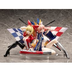 FATE/EXTRA 1/7 SCALE PRE-PAINTED FIGURE: NERO CLAUDIUS & TAMAMO-NO-MAE TYPE-MOON RACING VER. Stronger Co., Ltd