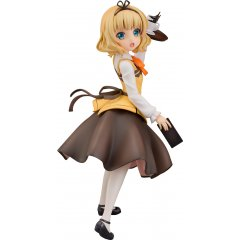 IS THE ORDER A RABBIT?? 1/7 SCALE PRE-PAINTED FIGURE: SYARO (CAFE STYLE) (RE-RUN) Plum
