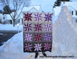 Starburst Quilt by Malini's Quilts