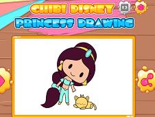 Chibi Disney Princess Drawing Princess Games
