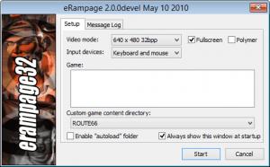 eRampage-config