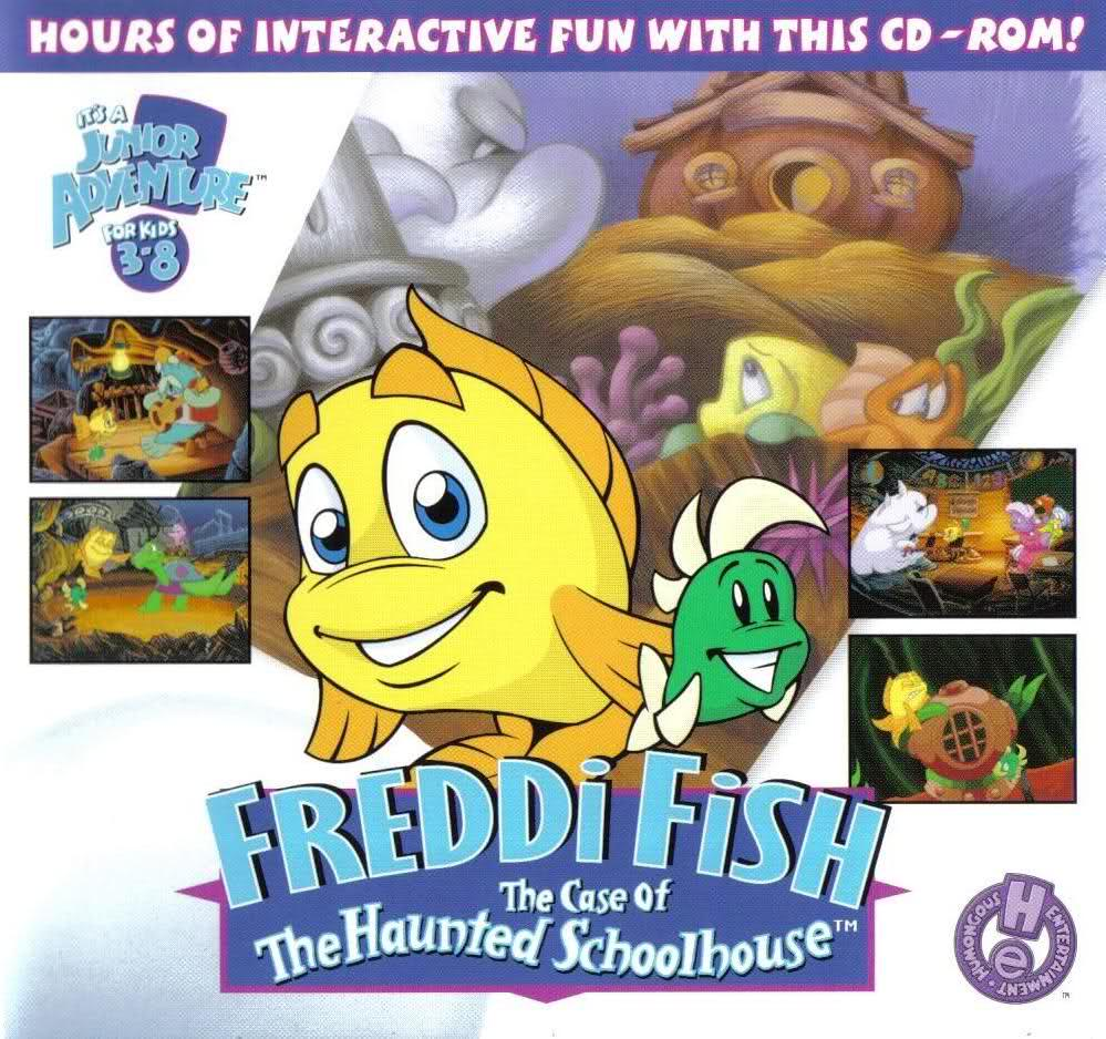 Freddi fish 2 the case of the haunted schoolhouse play for The fish game