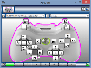 outwars-xpadder
