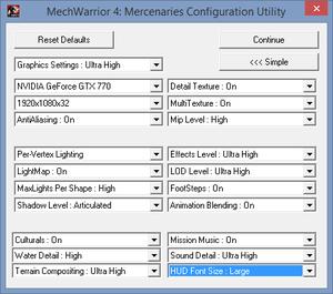 mw4-config-utility