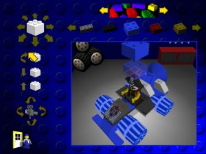 Designing your Lego racer.