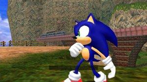 Sonic encounters Dr Robotnik