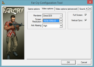 FarCry-Settings