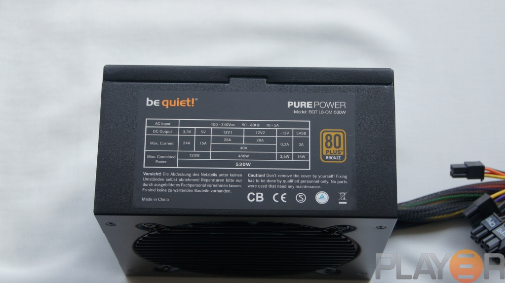 be quiet pure power l8 530w overview play3rbe quiet pure power l8 530w specifications