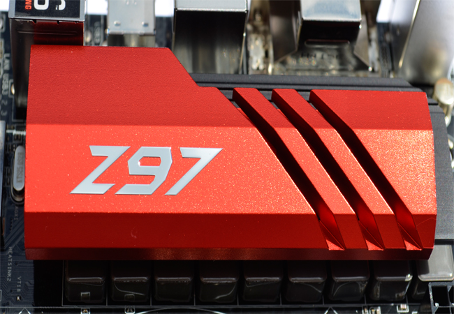 ASRock Fatal1ty Z97 Killer Closer Heatsink 2