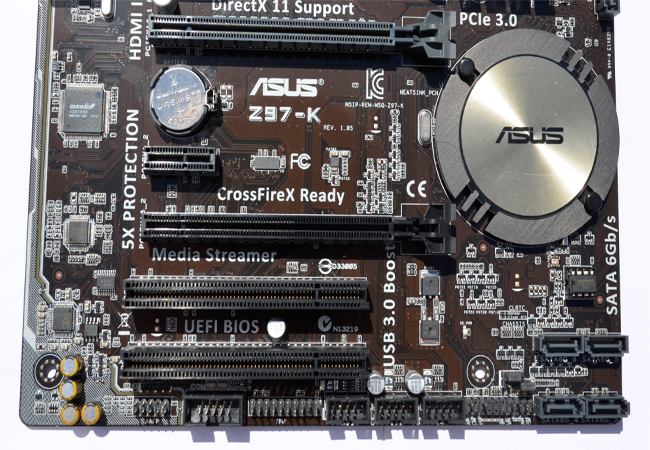 ASUS Z97-K close bottom