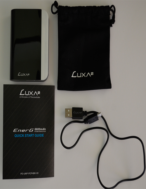 Luxa2 EnerG Closer contents