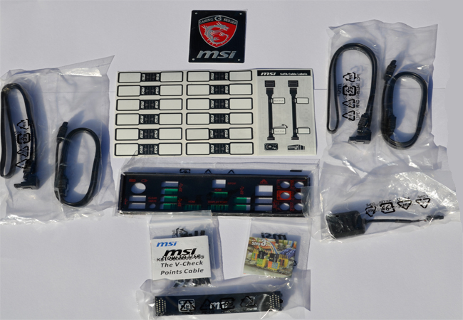 MSI Z97 GAMING 7 Accessories