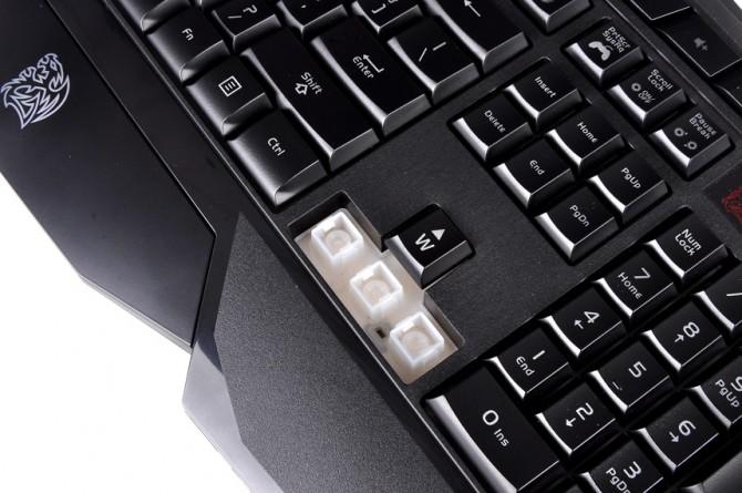 Tt eSPORTS CHALLENGER Prime gaming keyboard _ Anti-Spill Design _ 1