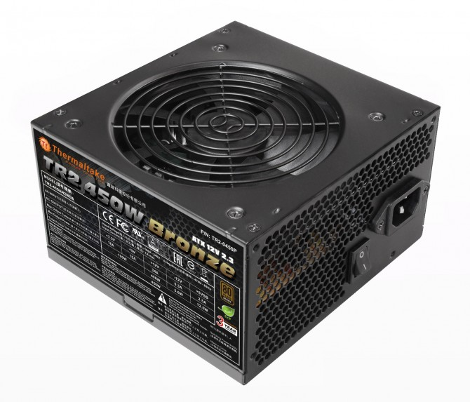 Thermaltake TR2 Bronze 450WPower Supply Units