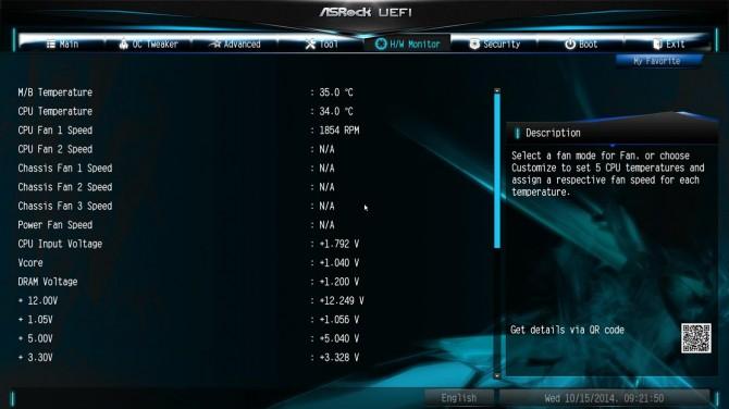 ASRock X99 Extreme6 BIOS5