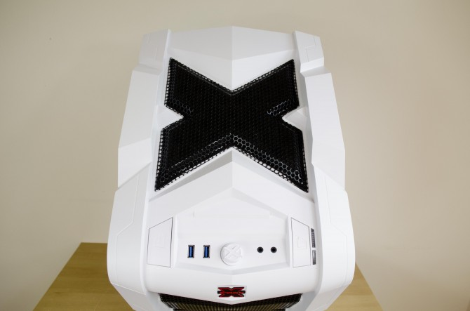 AeroCool Strike X Cube Exterior top