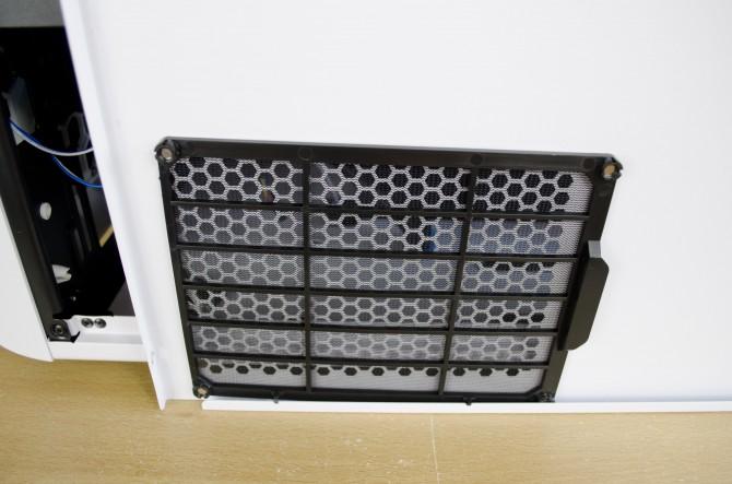 AeroCool Strike X Cube Interior side panel psu fan filter