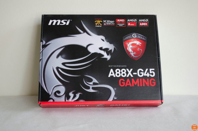 MSI A88X-G45 Gaming Motherboard