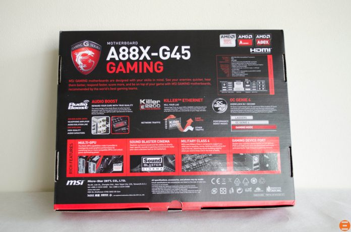 MSI A88X-G45 Gaming Motherboard_1