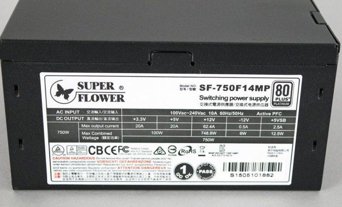 Superflower 750w Leadex Platinum PSU 6