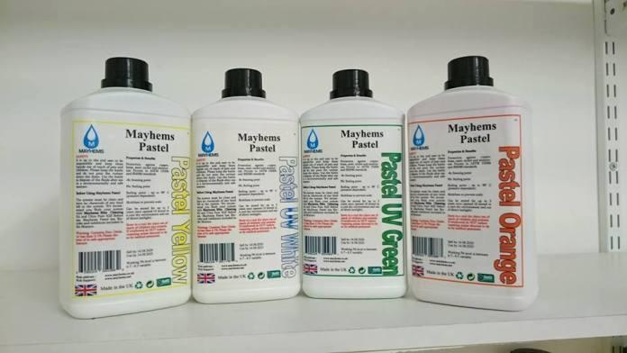 Mayhems new bottle design for 2015 and beyond
