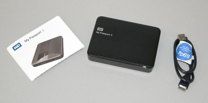 WD My Passport X 2TB 2