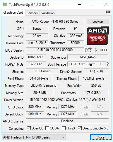 GPU Z Vibox