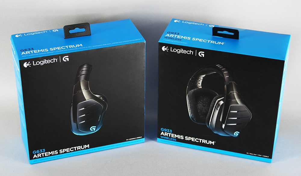 Logitech G633 & G933 Artemis Spectrum Gaming Headset Review