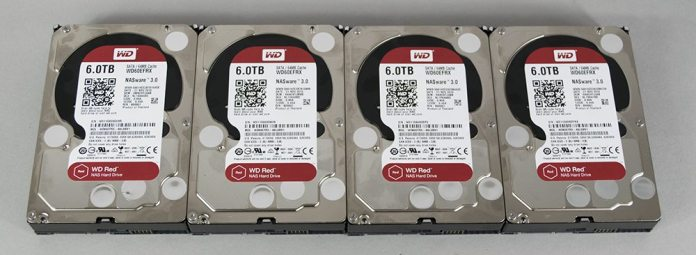 WD Red 6TB HDD 2