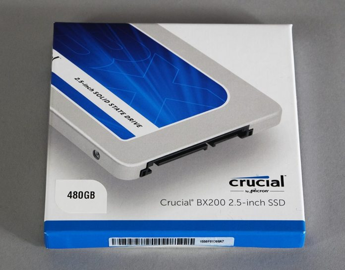 Crucial BX200 480GB SSD Review 1