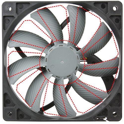 Scythe fan