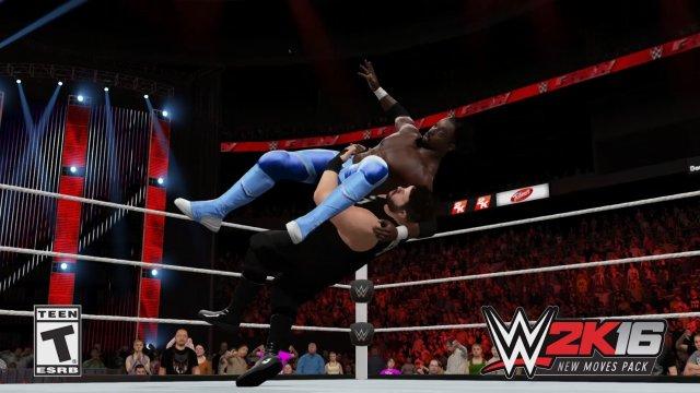 WWE2k16.