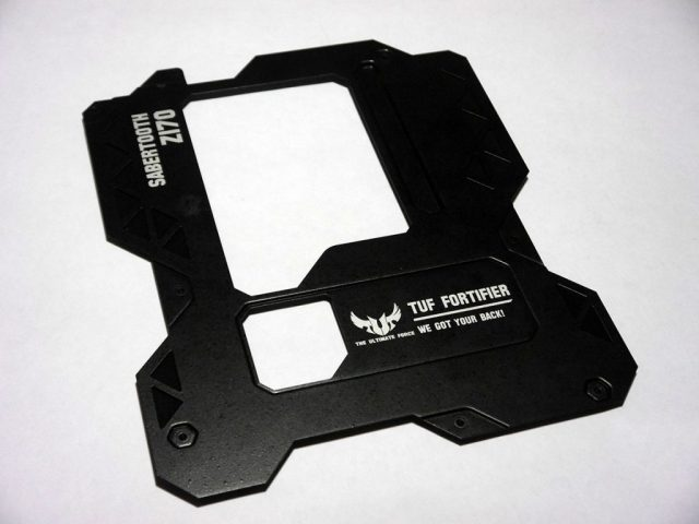 Image showing: ASUS Sabertooth Z170 Mark 1 - Back Shield