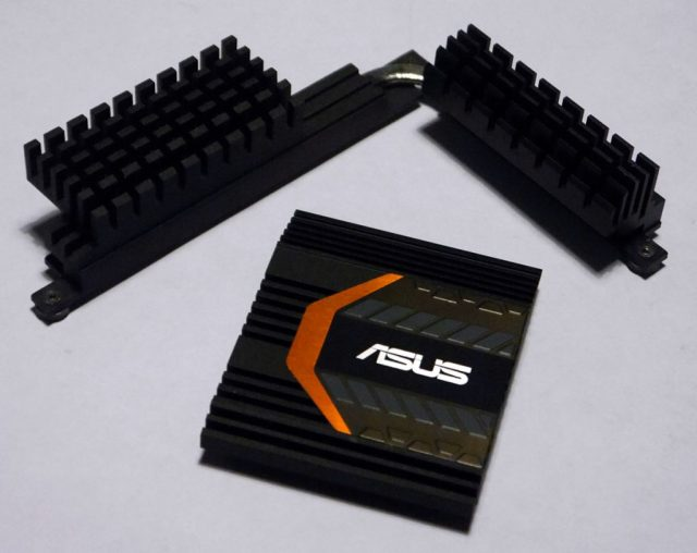 Image showing: ASUS Sabertooth Z170 Mark 1 - Heatsinks