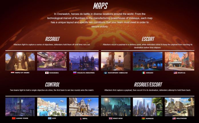 Image showing Overwatch maps