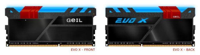 GeIL EVO X Front&Back