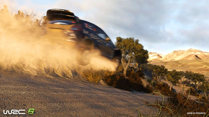 Image of screenshot from WRC6
