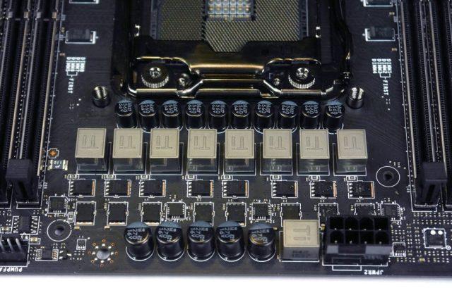 MSI X99 Gaming Pro Carbon - VRM