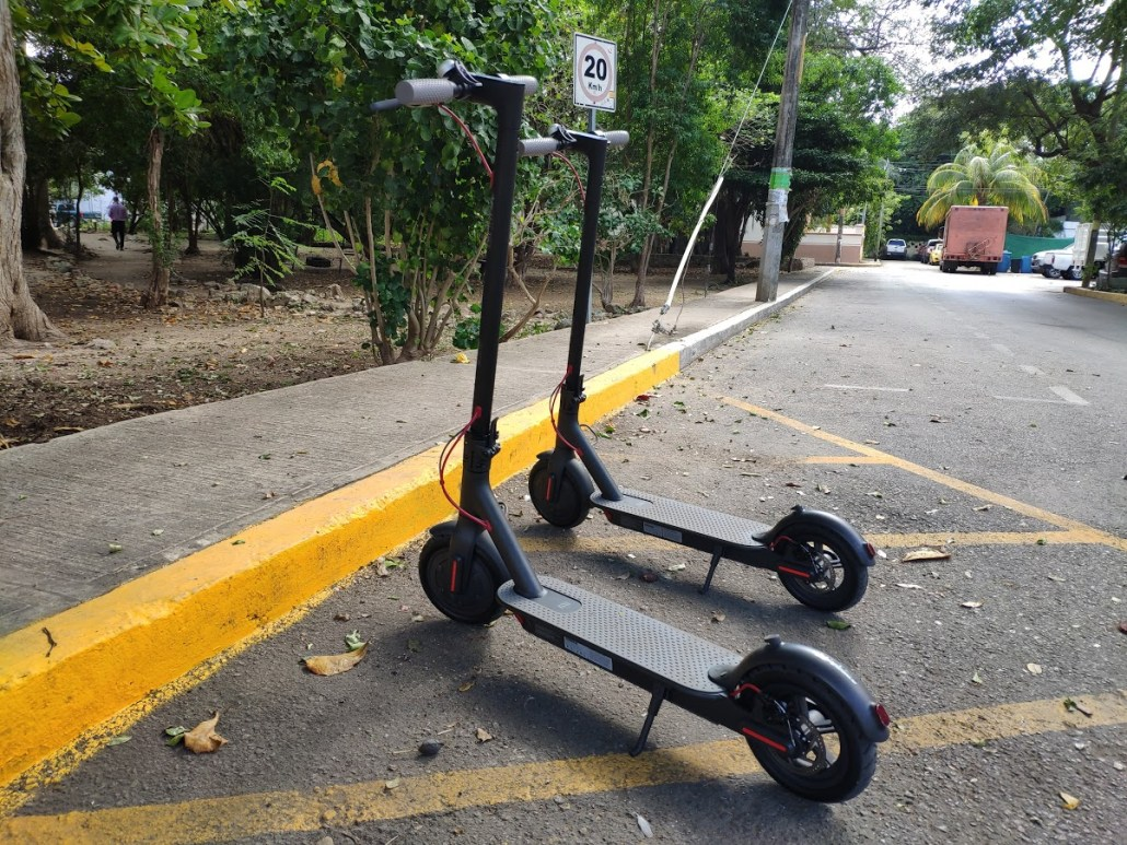 playa del carmen electric scooters