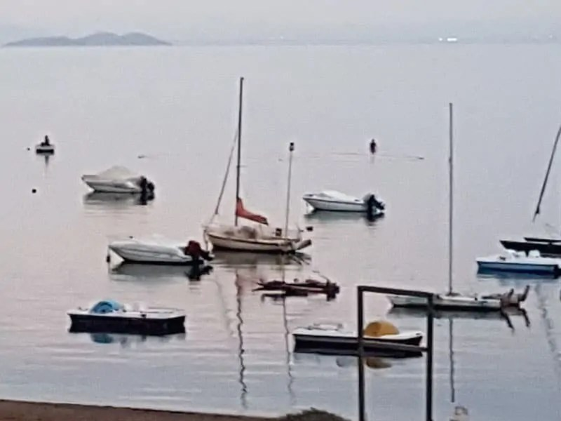 Boats in the Mar Menor