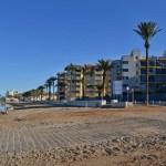Tomando el sol en Playa Honda