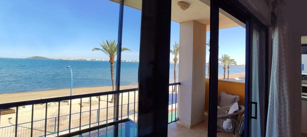 Las mejores vistas desde el salón y el balcón