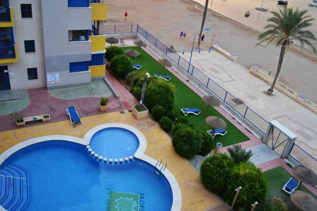 Verdemar 2 - pool by the sea